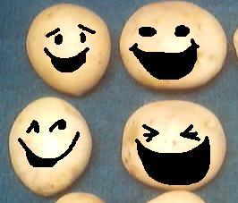 Happy Chipping Potatoes