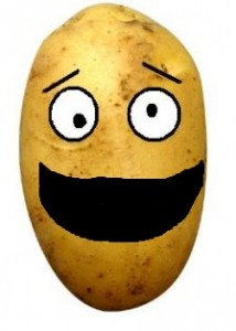 Mr. Happy Spud is proud to announce we've won the USDA's war on Potatoes